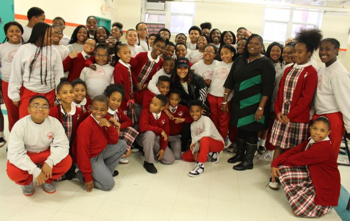Baltimore's Cardinal Shenan School Choir & Persia Nicole