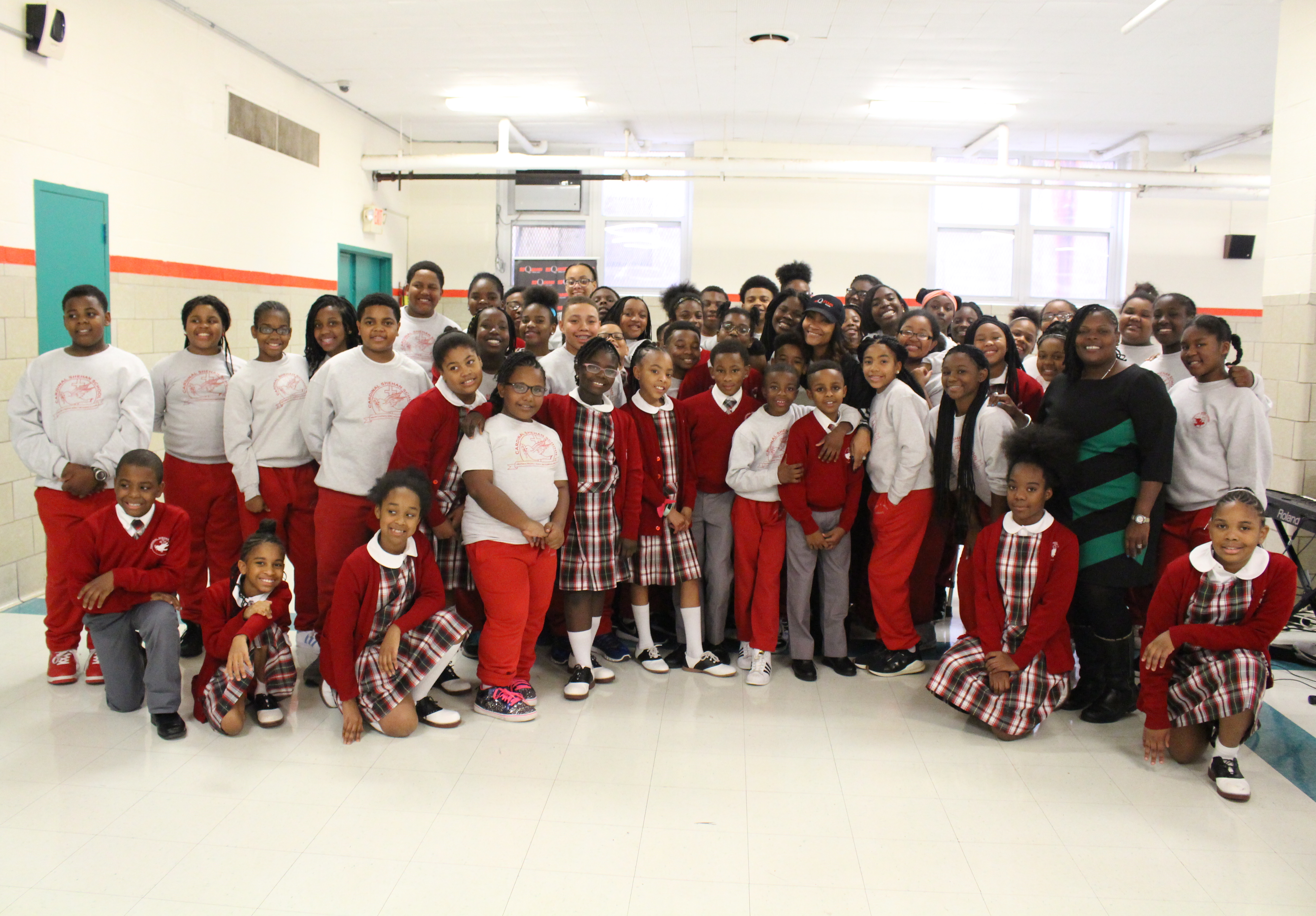 Baltimore's Cardinal Shenan School Choir & Persia Nicole