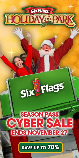 Six Flags Cyber Sale