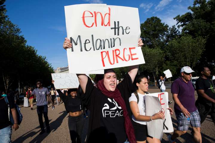 Black Lives Matter Protest at White House