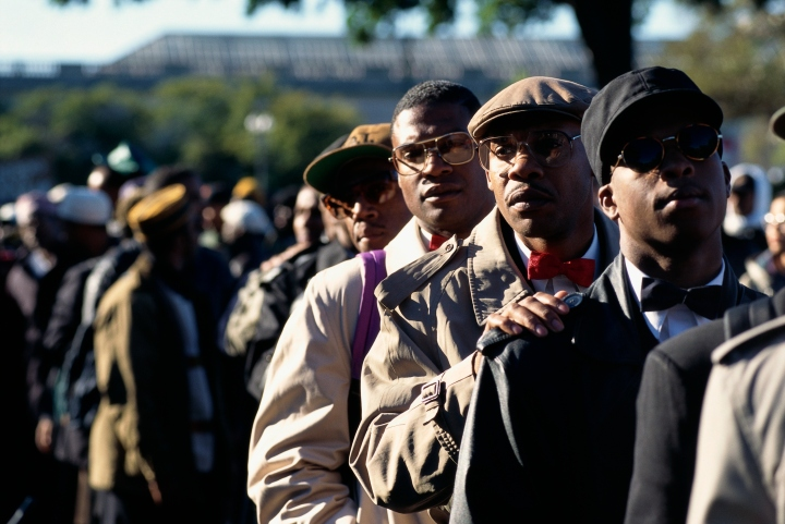Million Man March Participants