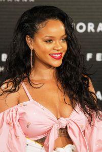 Rihanna attends the 'Fenty Beauty' photocall