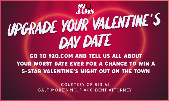 92q valentines upgrade your date