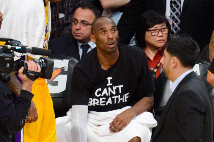 Kobe Bryant Protests