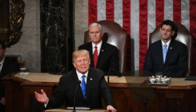 President Trump Delivers His First State of The Union Address To Joint Session of Congress