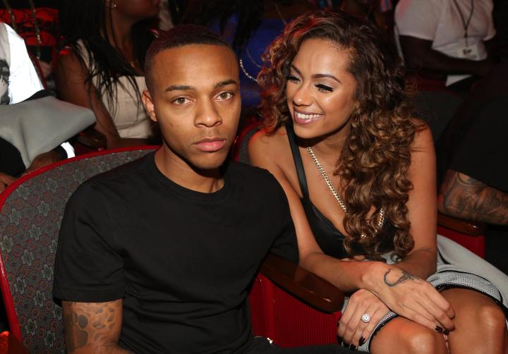 BET Hip Hop Awards 2014 with Erica Mena