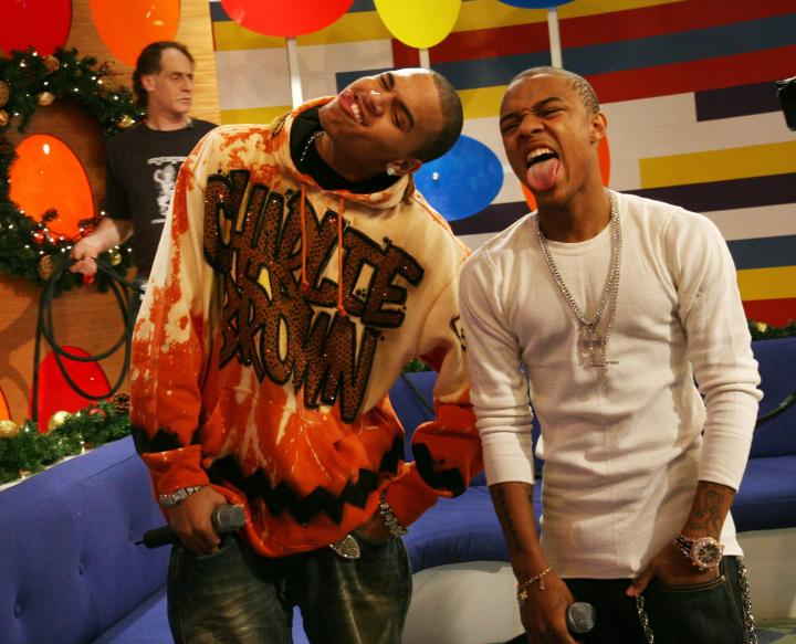 Chris Brown and Bow Wow in 2006