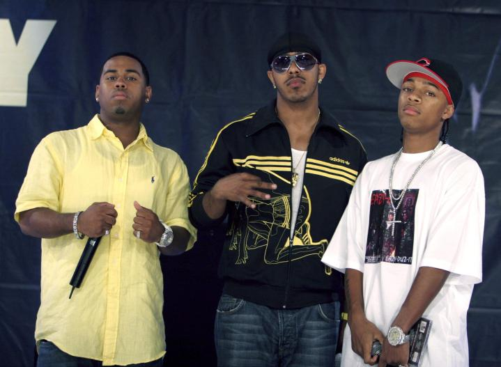 Bobby V, Marques Houston and Bow Wow in New York City New York in 2005