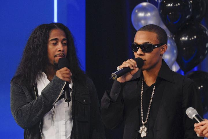 '106 & Party' taping with Bow Wow& Omarion in 2007