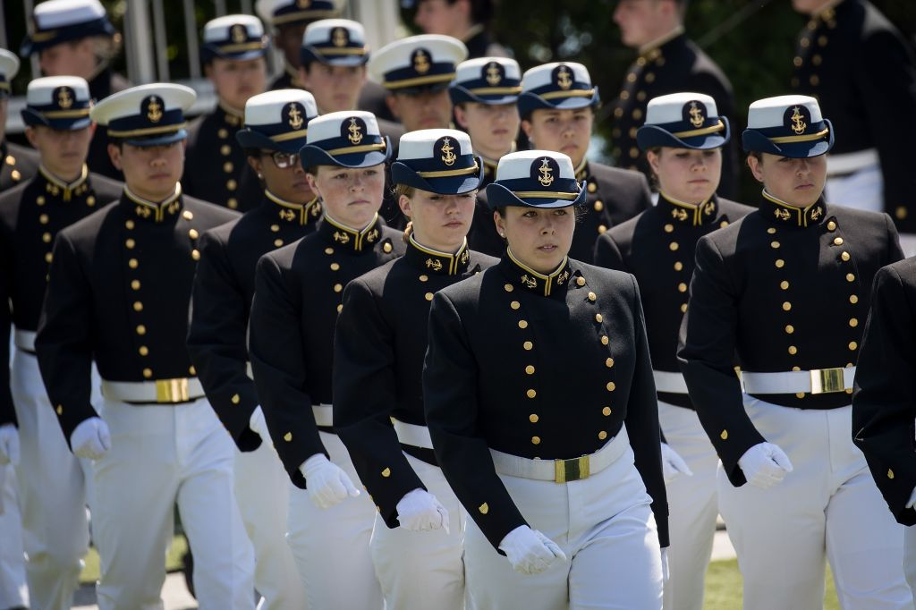 Donald Trump Delivers Commencement Address At U.S. Coast Guard Academy
