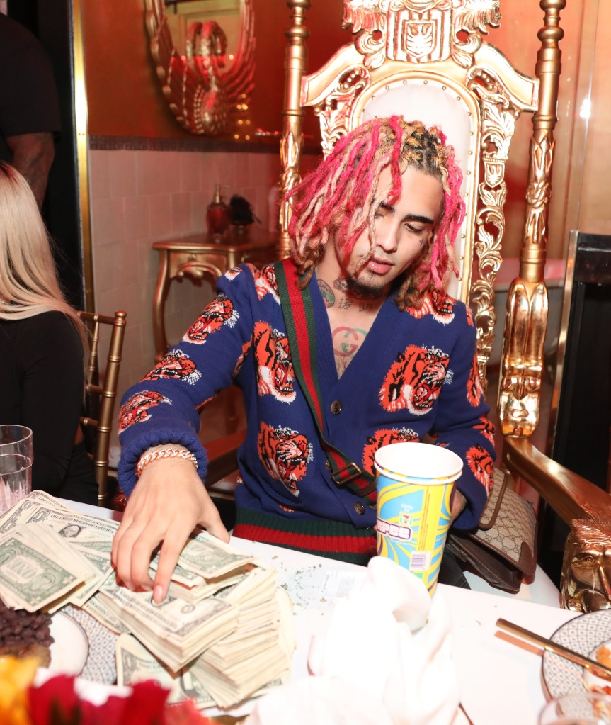 Lil Pump's 17th Birthday Party
