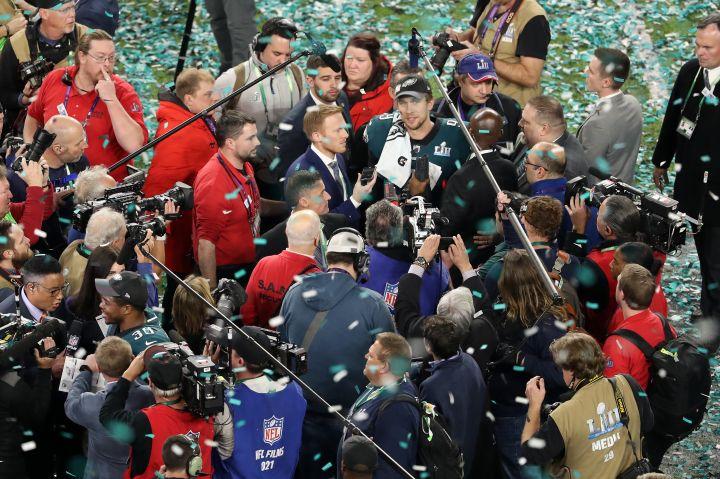 Super Bowl LII – Philadelphia Eagles v New England Patriots