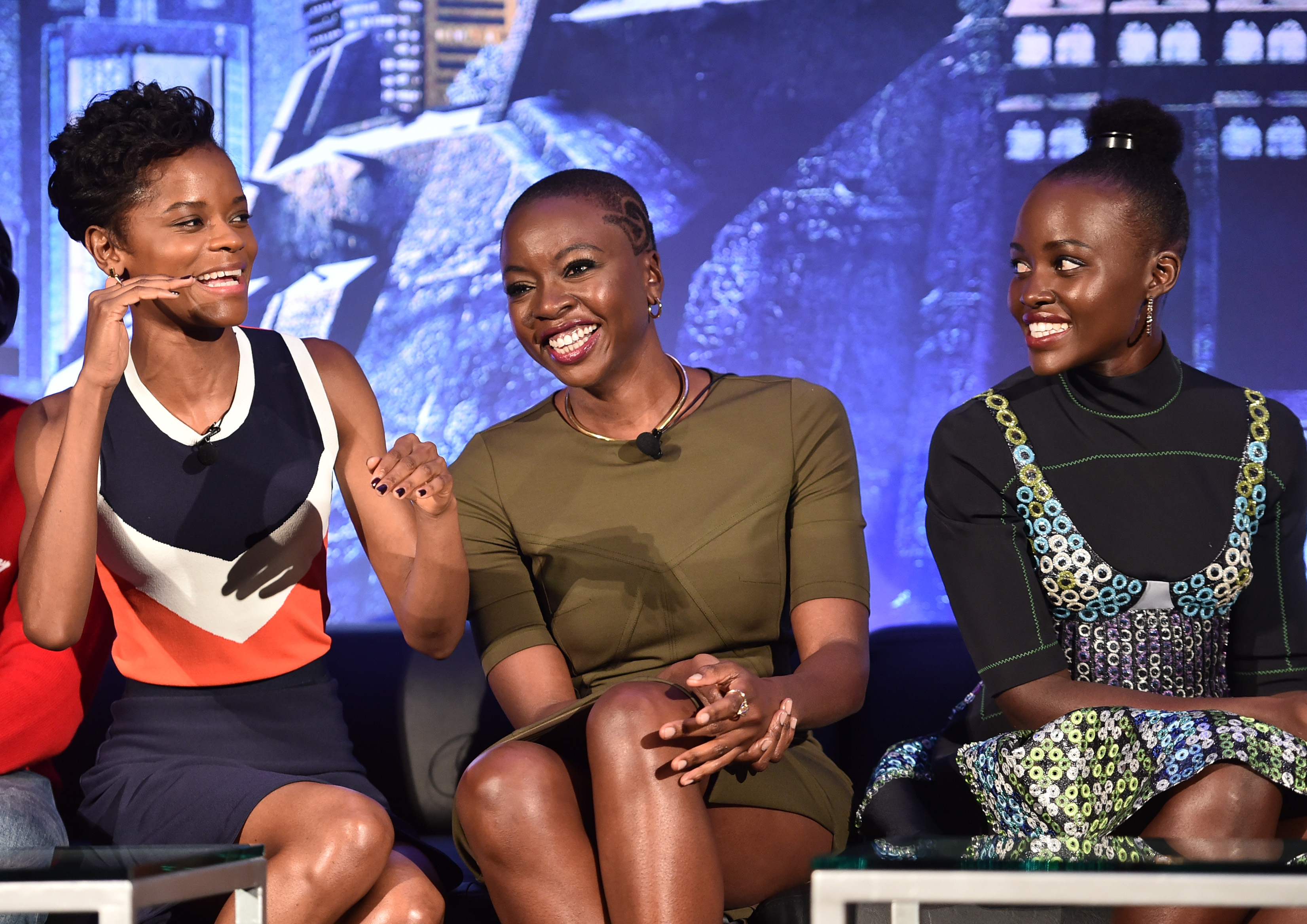 Marvel Studios' BLACK PANTHER Global Junket Press Conference