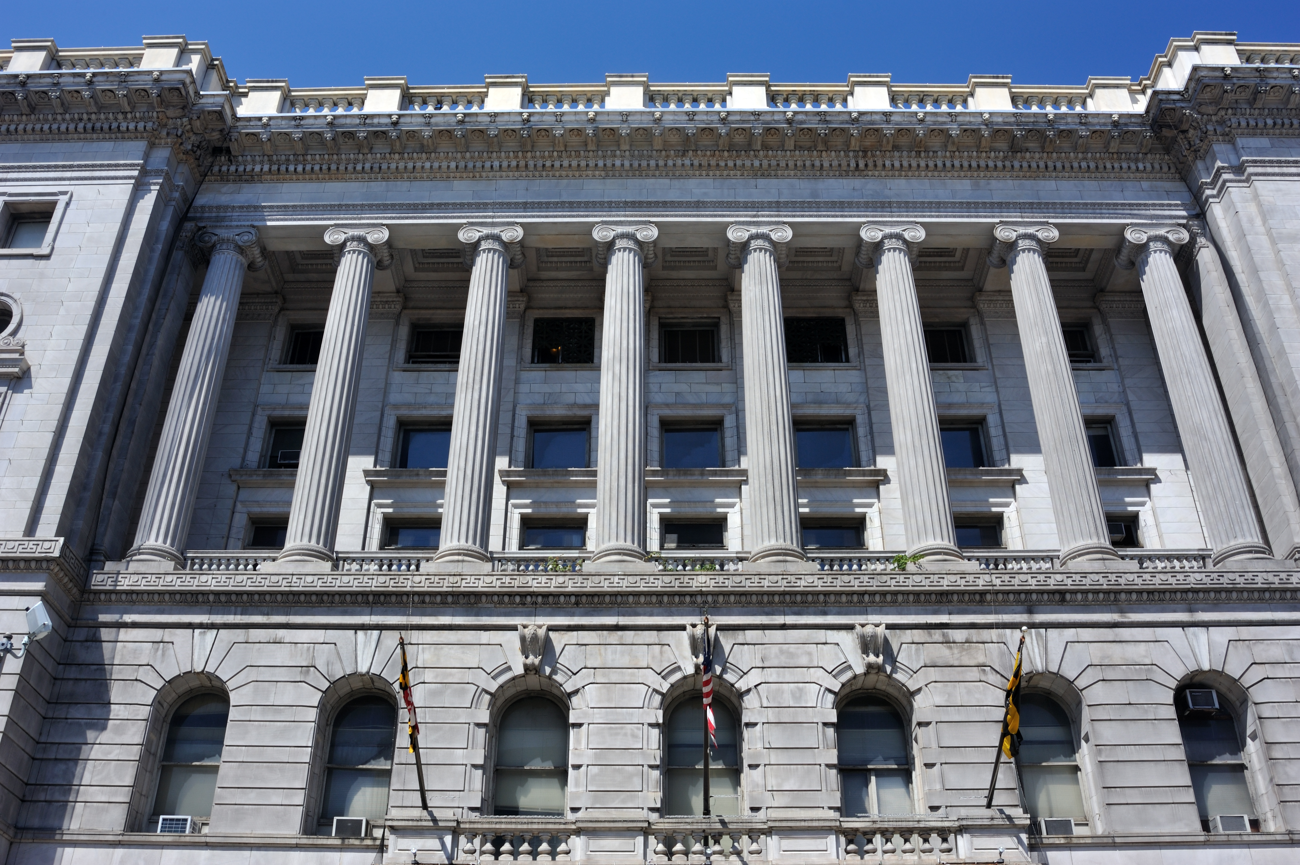 Courthouse in Baltimore