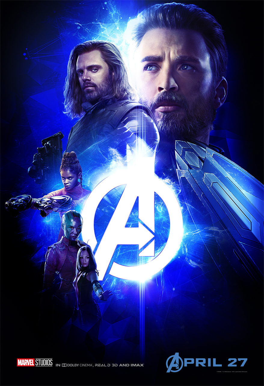 AVENGERS: INFINITY WAR Character Group Posters Captain