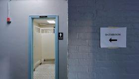 City Grit restaurant school bathroom