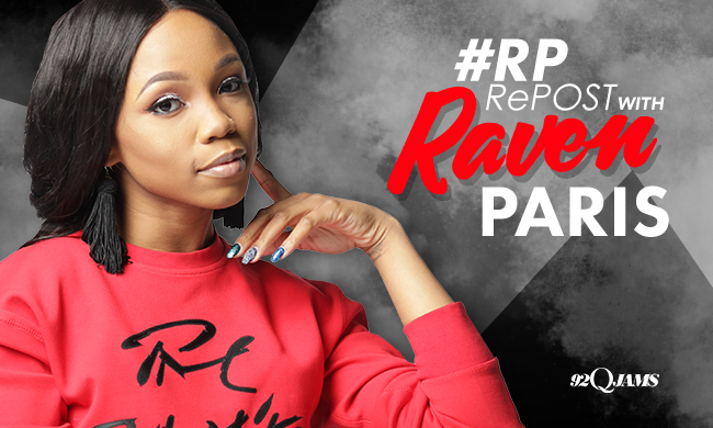 Repost with Raven Paris