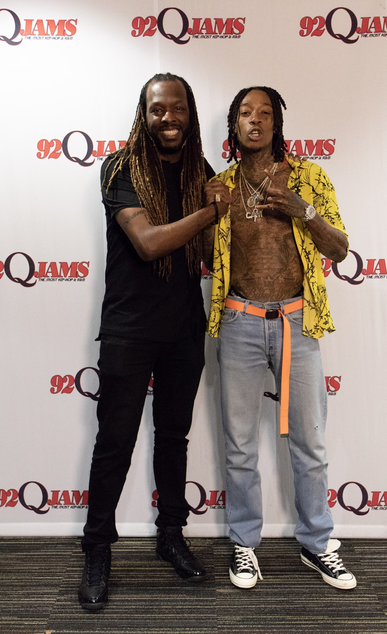 Wiz Khalifa at 92Q