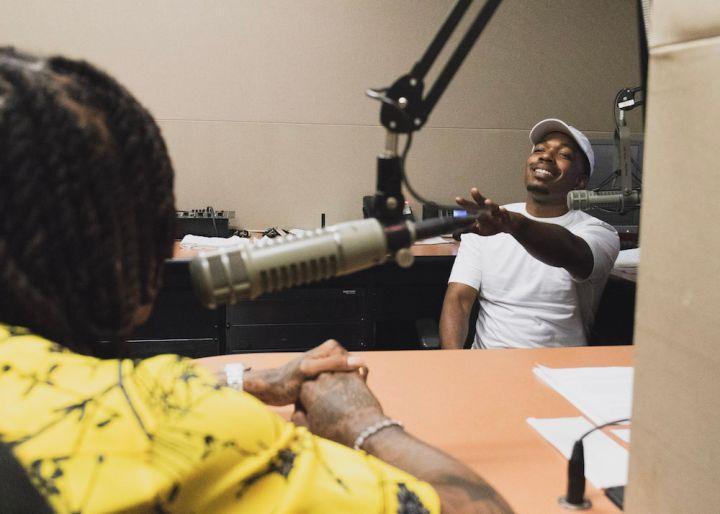 Wiz Khalifa Visits 92Q In Baltimore