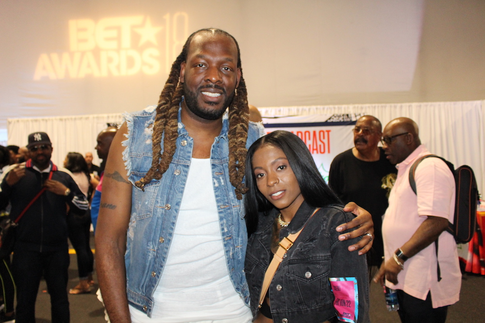 BET Awards 2018 Radio Room Day 1