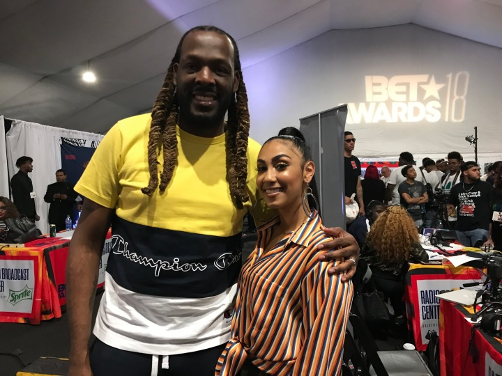 BET Awards 2018 Radio Room Day 2