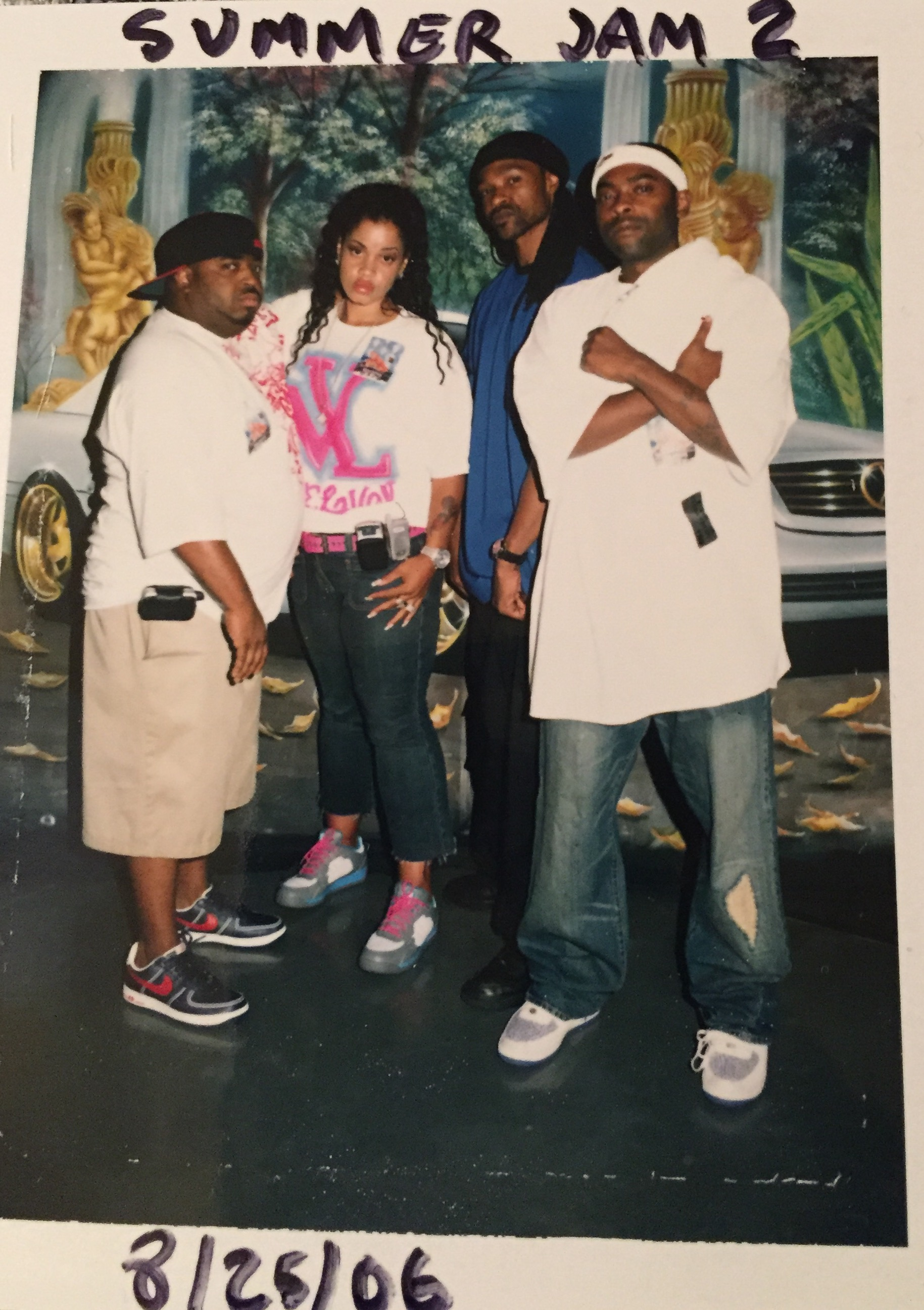 Throwbacks of K-Swift with 92Q Team
