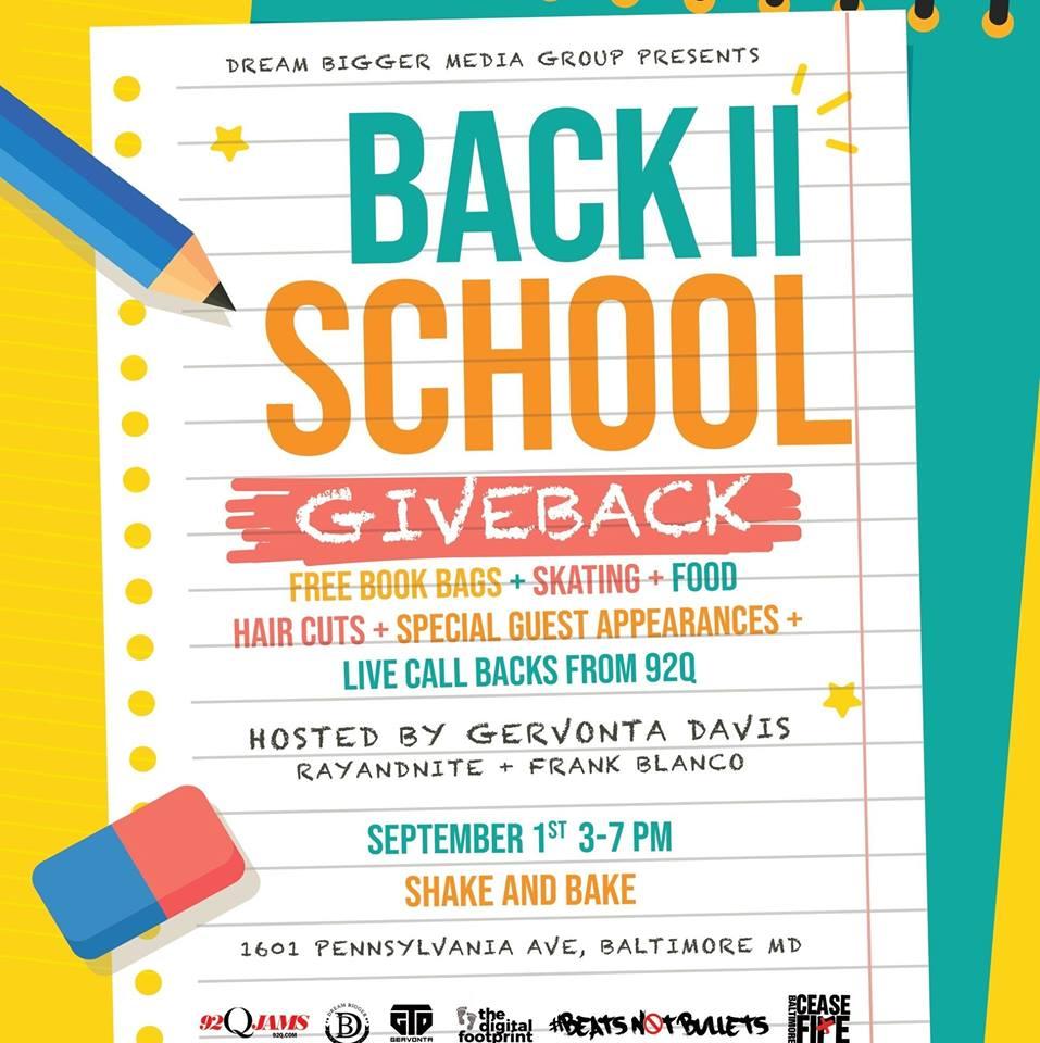 Back II School Giveback 2018
