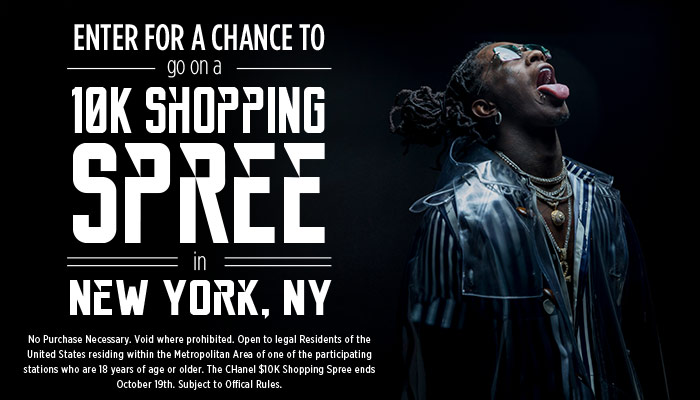 Chanel $10K Shopping Spree NY
