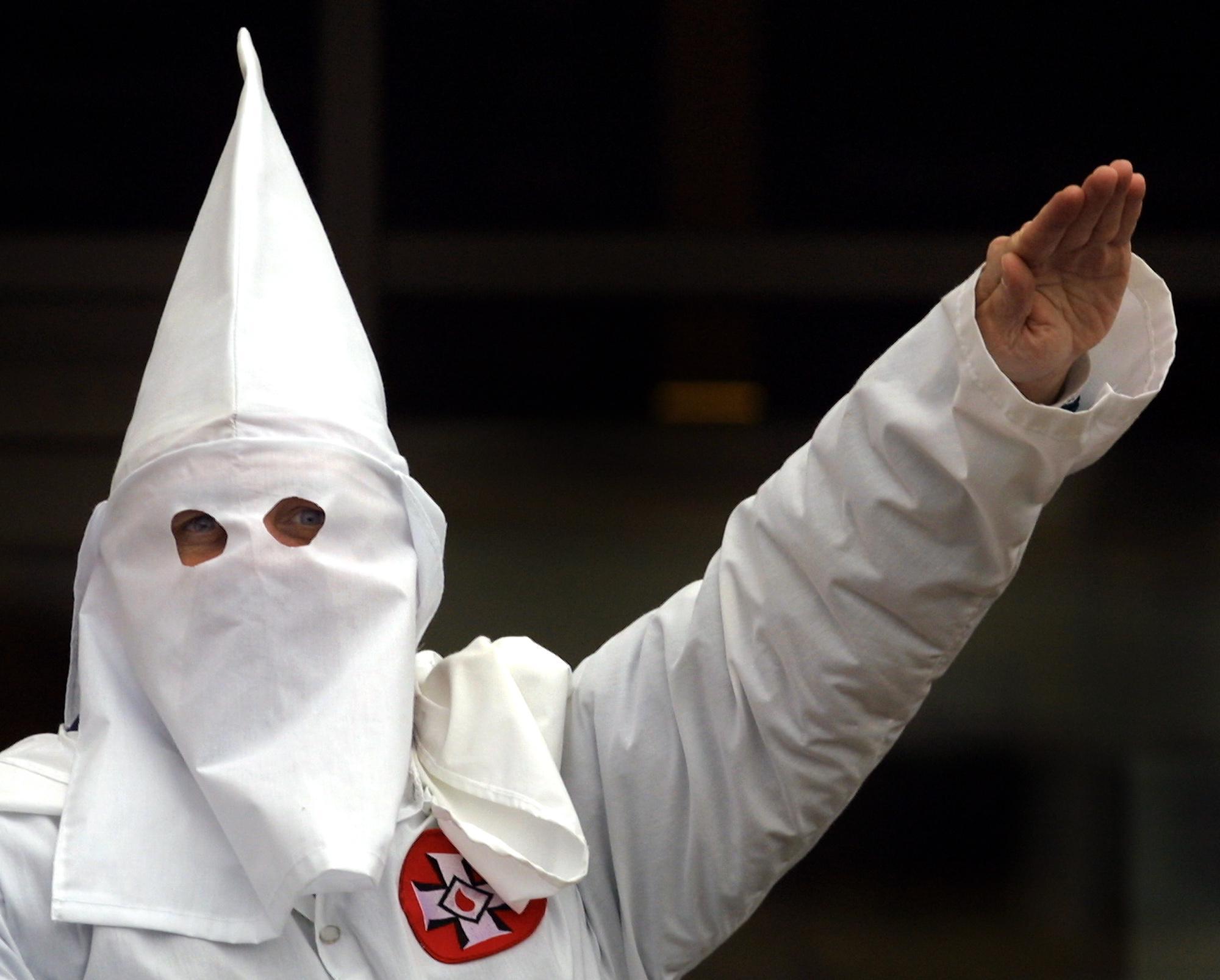 KKK rally in Illinois