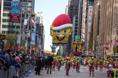 fb12ea8c82c 91st Annual Macy s Thanksgiving Day Parade 2017. Source  VIEW press    Getty. The Morgan State Band will perform ...