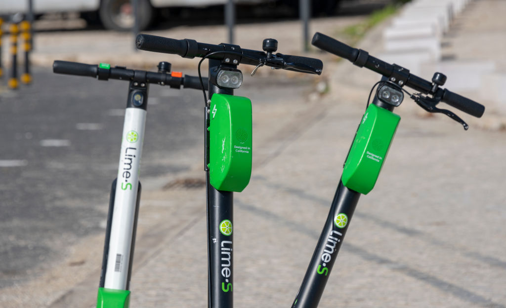 Lime-S Electric Scooter in Lisbon