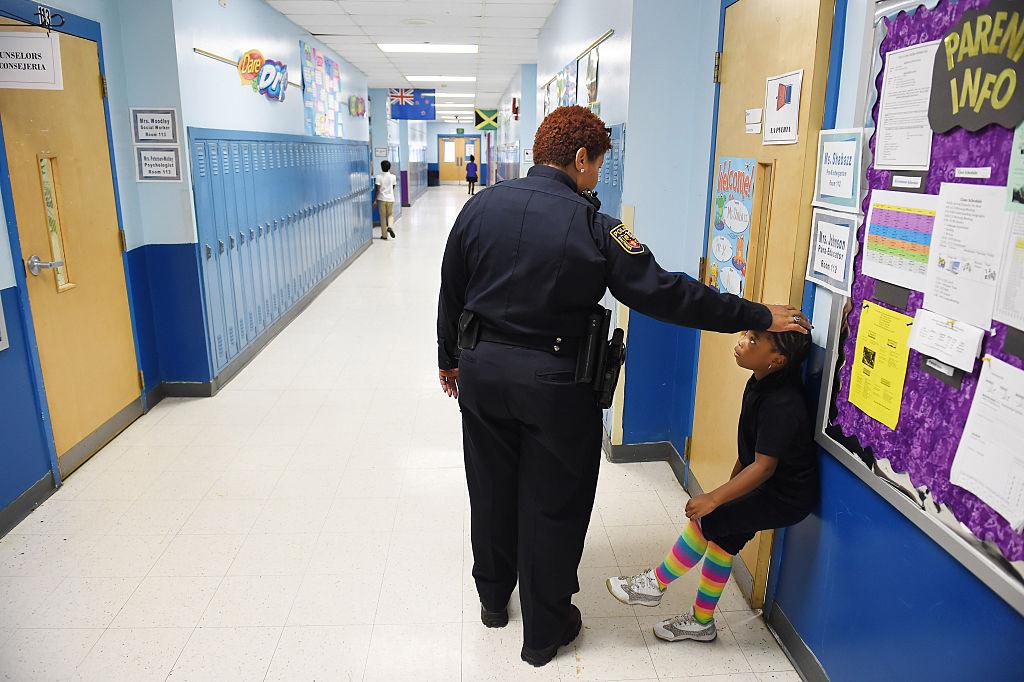 School police officer, Tiffany Wiggins - Baltimore, MD