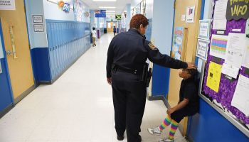 School police officer, Tiffany Wiggins - Baltimore, MD