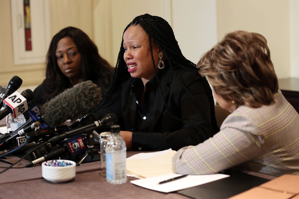 Gloria Allred Holds Press Conference As Two New Accusers Of R. Kelly Misconduct Come Forward