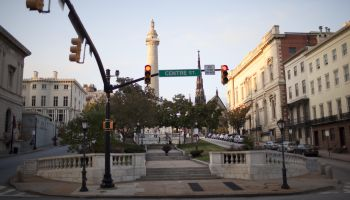 Baltimore's Mount Vernon Neighborhood