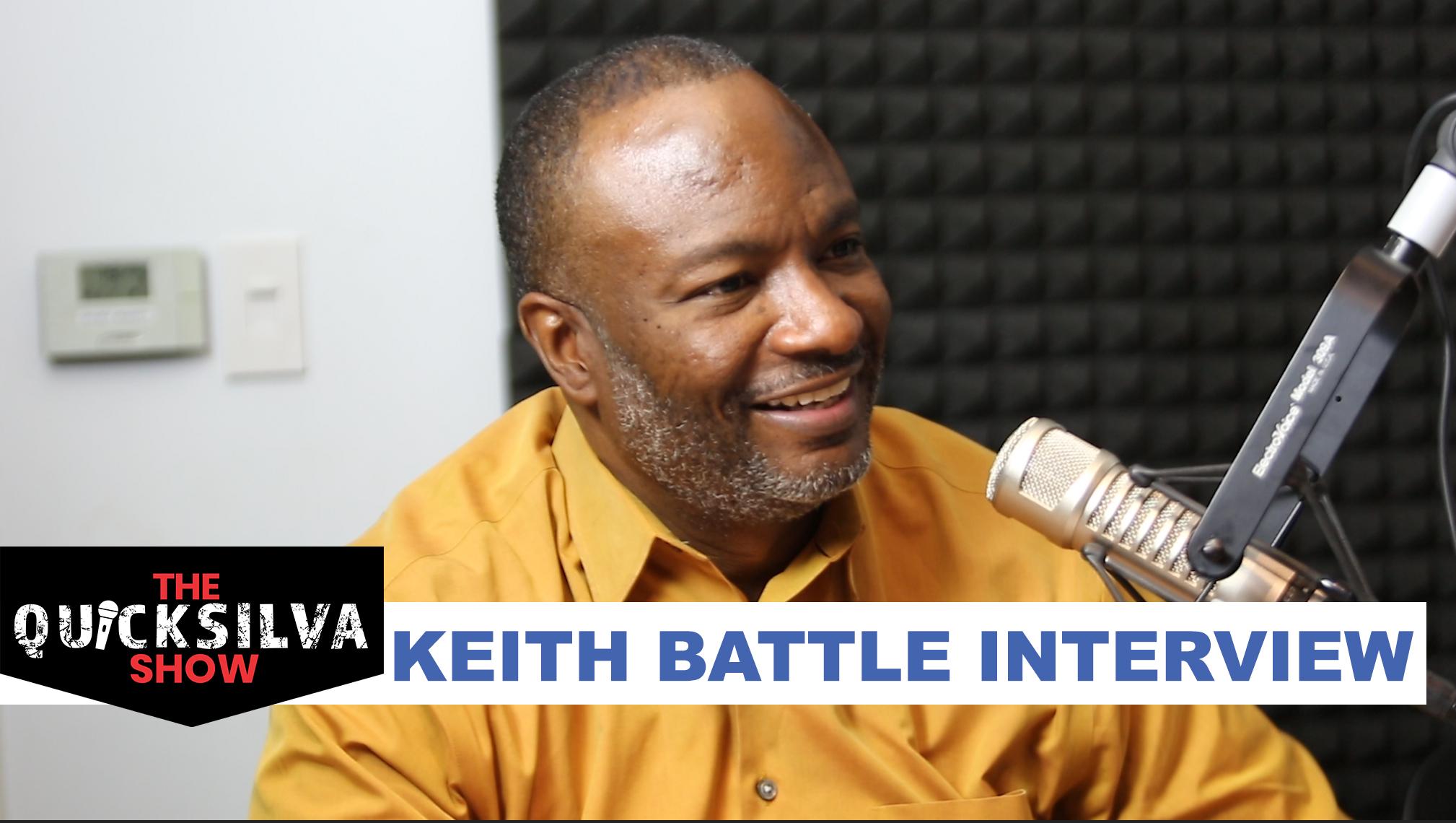 Pastor Keith Battle at The QuickSilva Show