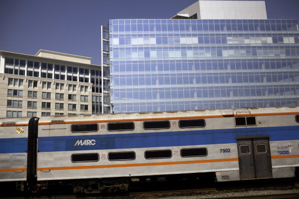 Amtrak in Baltimore, Maryland