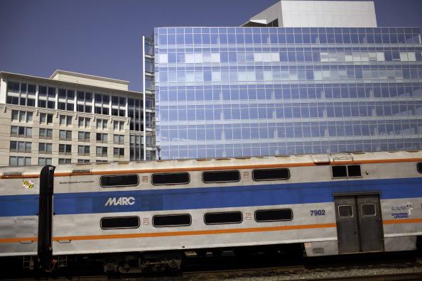 Amtrak in Baltimore, Maryland