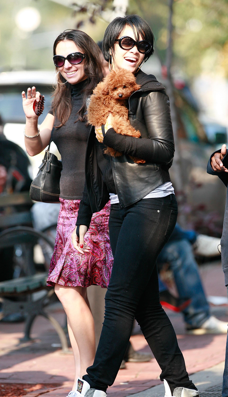 Celebrity Sightings In New York City - October 17, 2007