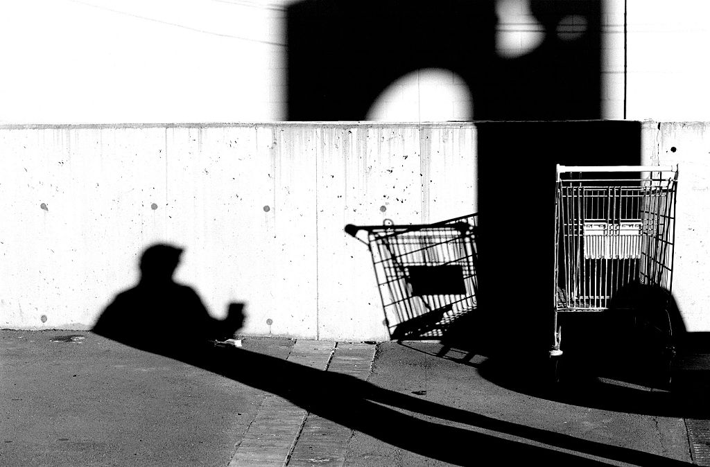 Generic shopping cart, 25 June 2001. AFR Picture by TAMARA VONINSKI