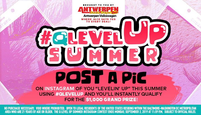 Qlevel Up Summer_RD Baltimore WERQ_May 2019