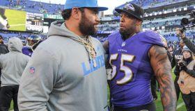 NFL: DEC 03 Lions at Ravens