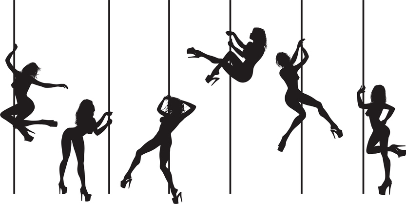pole dance - tube dancers