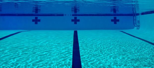 Pool View Underwater.