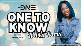 One to Know with Raven Paris