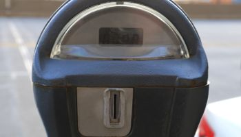 Close-up of a Coin Operated Parking Meter