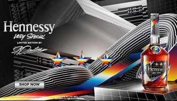 Hennessy Limited Edition Bottle From Artist Felipe Pantone