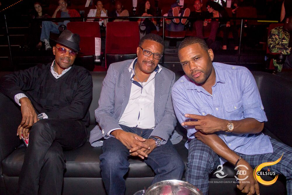 Anthony Anderson and Judge Mathis