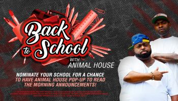 Back to School with Animal House_RD Baltimore WERQ_August 2019
