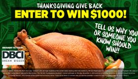 Thanksgiving Give Back Contest